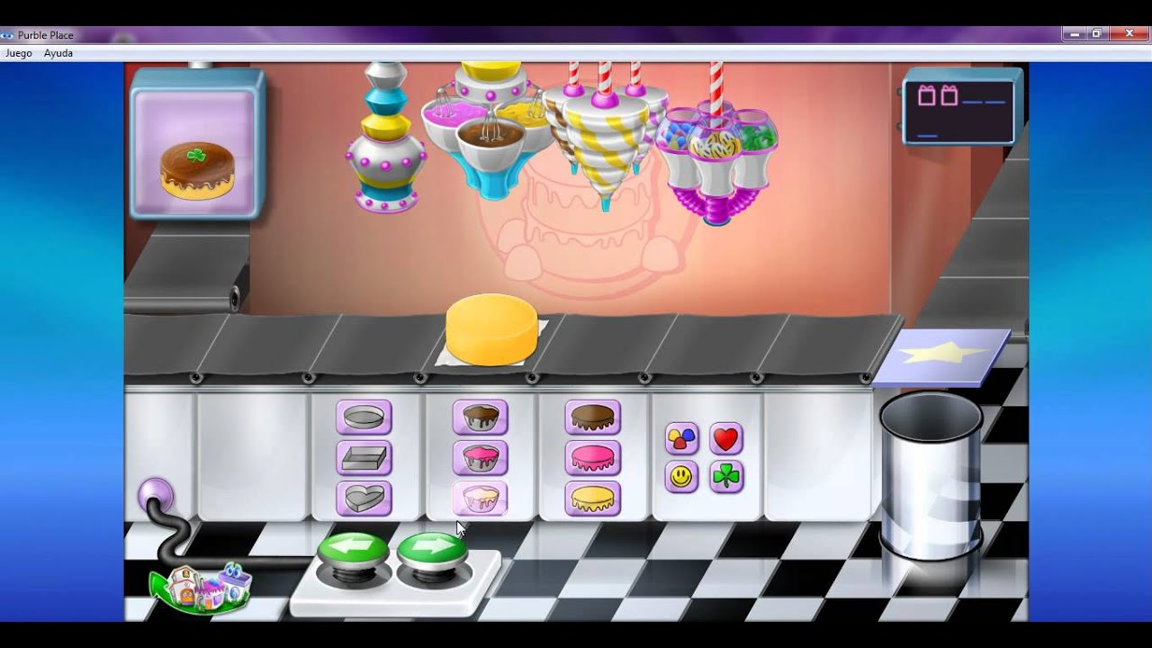 Jugando Al Purble Place Version De Las Tortas