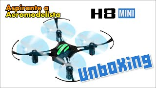 Unboxing - Drone (Quadricóptero) Indoor H8 Mini - Aliexpress