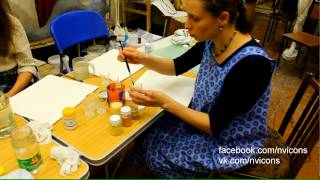 видео Краски для иконописи