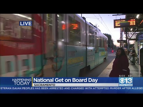 Ride Sac RT Buses, Light Rail For Free On Thursday