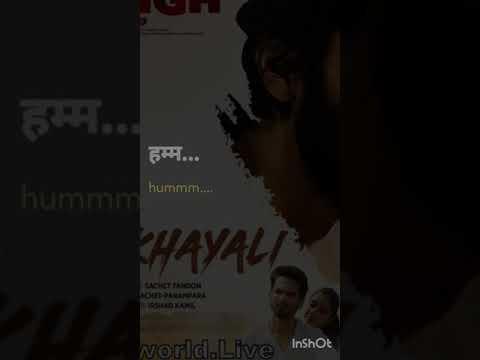 Bekhayali vertical Lyrical song with English Translation---Kabir Singh, Shahid Kapoor, Kiara Advani
