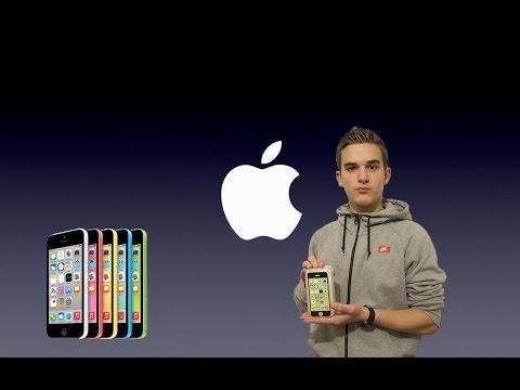 déballage de l'iphone 5c vert de 8gb