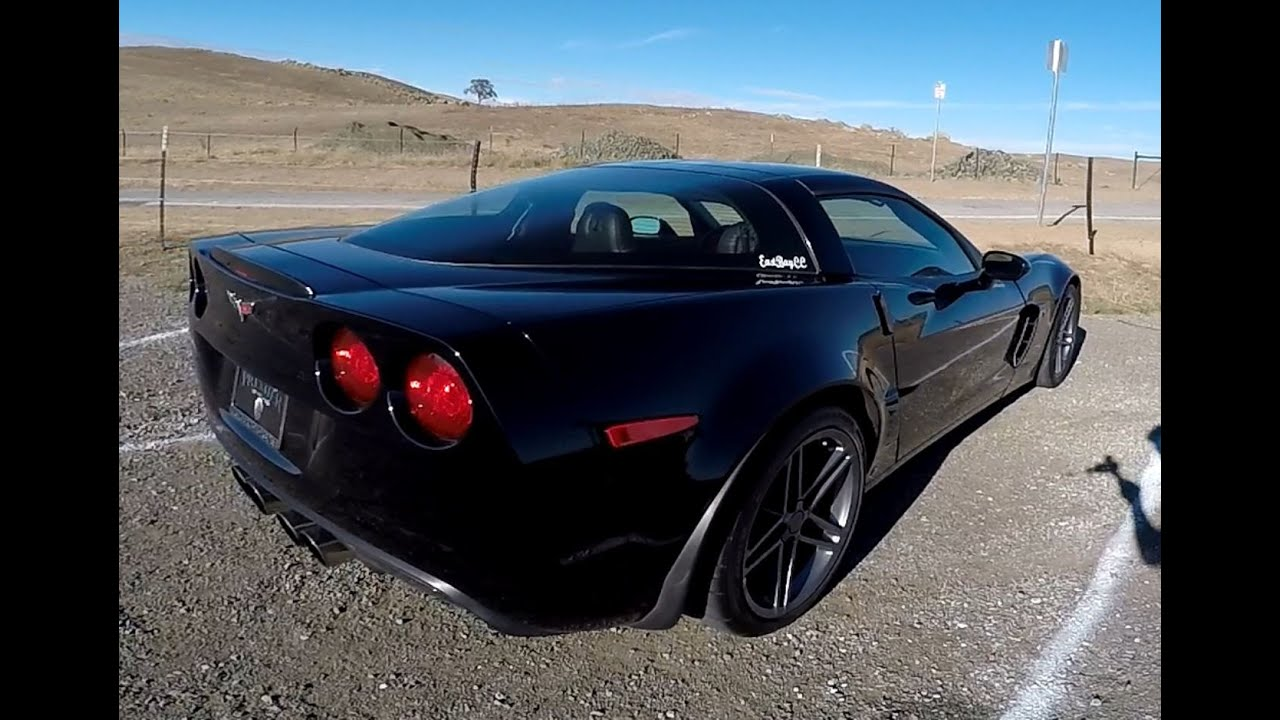 2008 chevrolet corvette c6 z06 pov test drive youtube. Black Bedroom Furniture Sets. Home Design Ideas