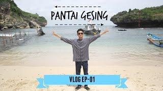 VLOG EP-01 Pantai Gesing Jogjakarta | Cikal Mahatmoko