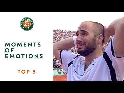 Top 5 Moments of Emotions - Roland-Garros