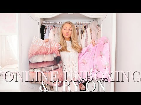 MISSGUIDED, PRETTY LITTLE THING & BOOHOO UNBOXING & TRY ON HAUL ~ Freddy My Love