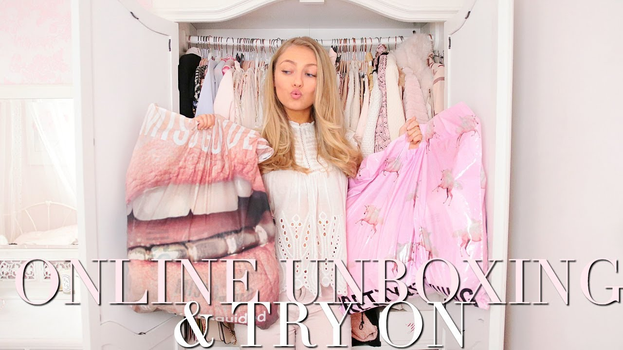 cb3095b7f0 MISSGUIDED, PRETTY LITTLE THING & BOOHOO UNBOXING & TRY ON HAUL ~ Freddy My  Love