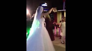 Свадебная лезгинка с деньгами