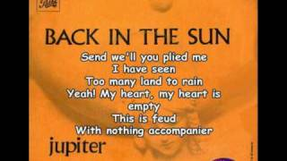 Download Video JUPITER SUNSET - Back in the sun MP3 3GP MP4