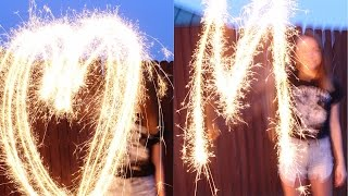 How To Create AWESOME Images With Sparklers