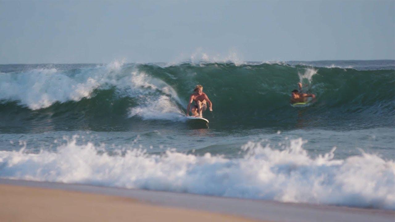 Surfing The Point W Brett Barley