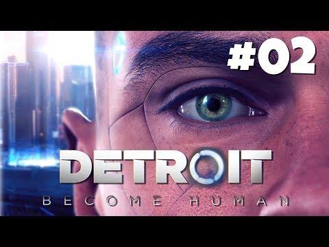 DETROIT BECOME HUMAN 02. TUDO se Complica! DUBLADO em Português no PS4 PRO