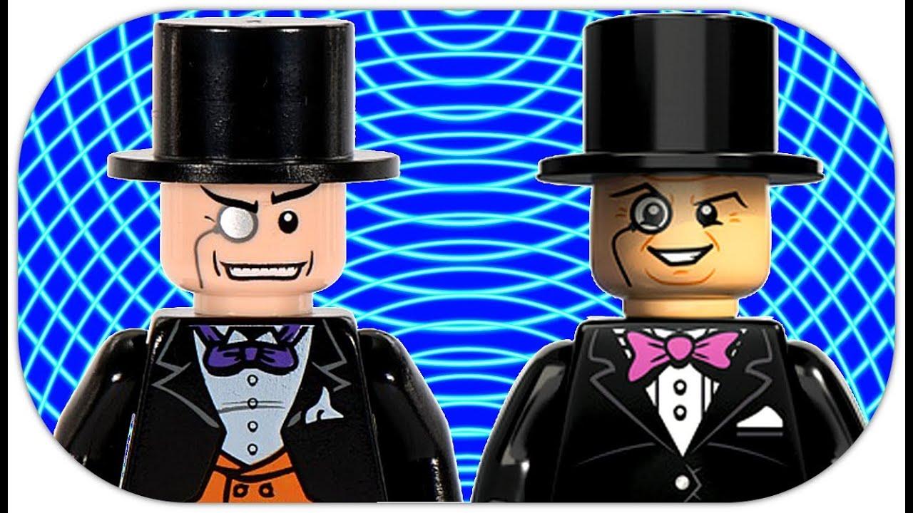 LEGO The Penguin Minifigure Comparison LEGO Batman DC ...