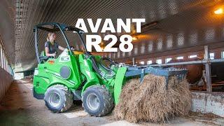 AVANT R28 Praca w gospodarstwie rolnym