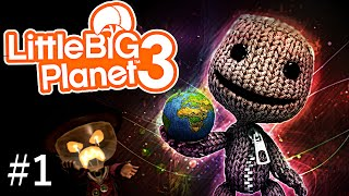 Little Big planet 3 - MangleWood Part 1 - OddSock