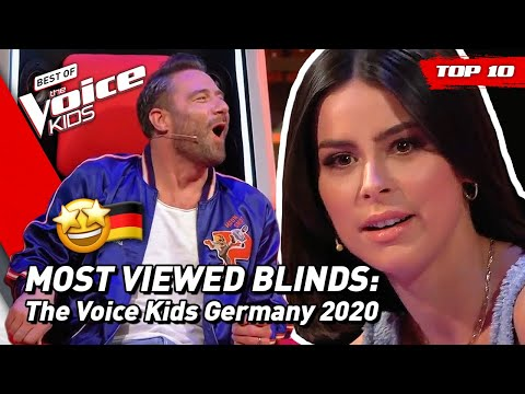 TOP 10 | MOST VIEWED Blind Auditions of 2020: Germany ���� | The Voice Kids