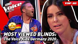 TOP 10 | MOST VIEWED Blind Auditions of 2020: Germany 🇩🇪 | The Voice Kids