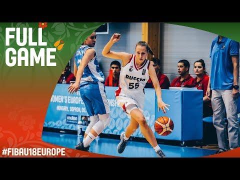 Russia v Bosnia and Herzegovina - Live - Class 11-12 - FIBA U18 Women's European Championship 2017