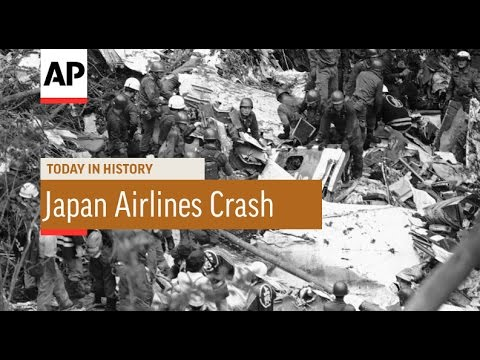 Japan Airlines Crash 1985 Today In History 12 Aug 16 Youtube