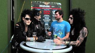 Bring The Noise UK - Black Veil Brides Interviewed at Download Festival 2011