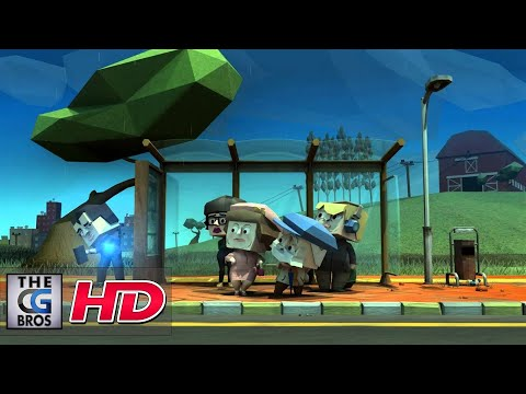 "CGI 3D **Award Winning** Animated Short HD: ""Bus-Stop"" - by Serdar Cotuk and Bugra Ugur Sofu"