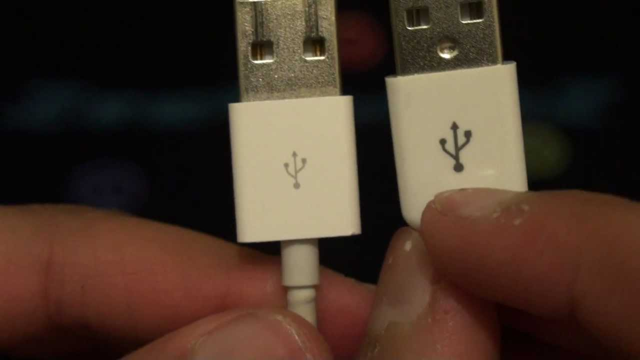 da8c43d94 Real VS Fake iPod   iPhone Sync   Charge Cable - Quick Comparison - YouTube