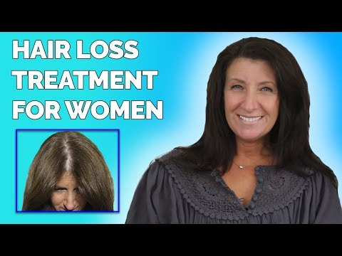Hair Loss in Women • LIFE CHANGING Treatment for Thinning Hair