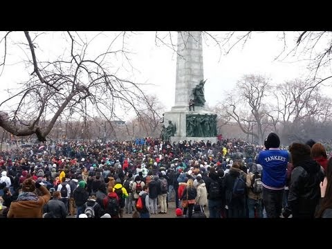 4:20 on 4/20 in park Mount Royal, Montreal '13.  Skip to 0:33 for the cloud..