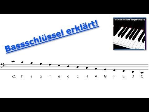 Bassschlüssel erklärt