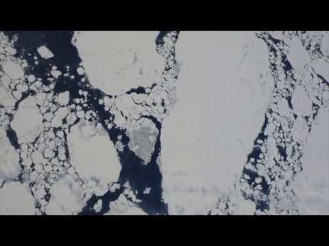 Nuevas imágenes de la enorme grieta en la Antártida
