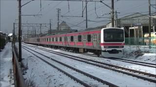 2016.12.15 209系ケヨ34編成 AT構内線試運転
