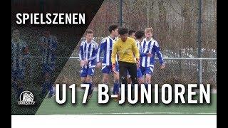 SV Nettelnburg-Allermöhe U17 – Niendorfer TSV U17 (15. Spieltag, B-Junioren Regionalliga Nord)