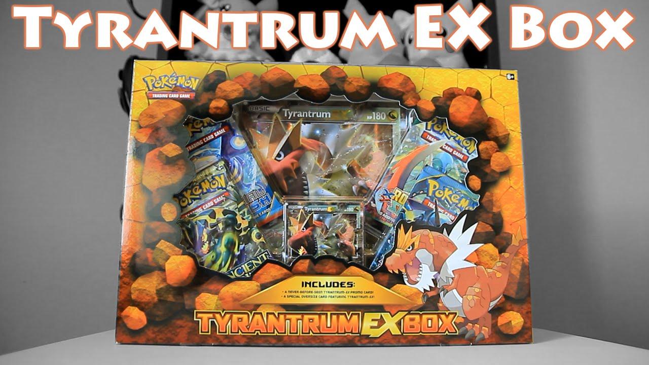 Opening Pokemon Tyrantrum Ex Box