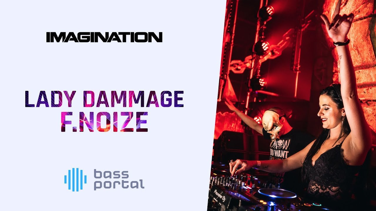 Download Lady Dammage & F.Noize - Devastator @ Imagination Festival 2019 | Hardcore