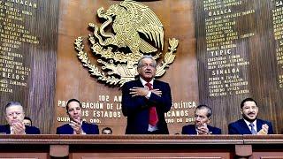Aniversario de la promulgación de la Constitución de 1917 desde Querétaro, Querétaro