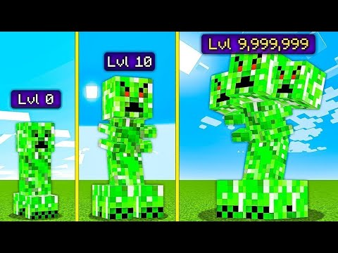 i made creepers 9,999,999x stronger and this happened