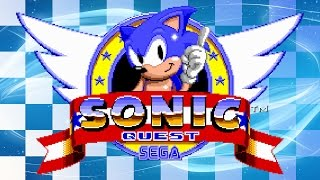 Sonic Quest - Walkthrough