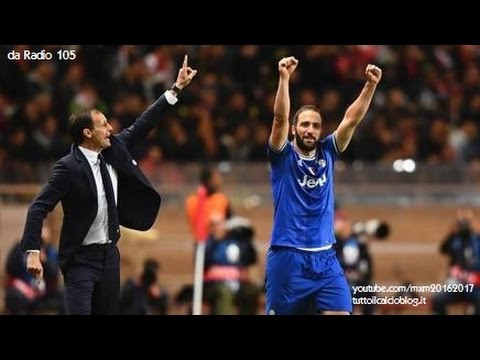 Radio 105 - Monaco-Juventus 0-2, radiocronaca di Niccolò Ceccarini (3/5/2017)