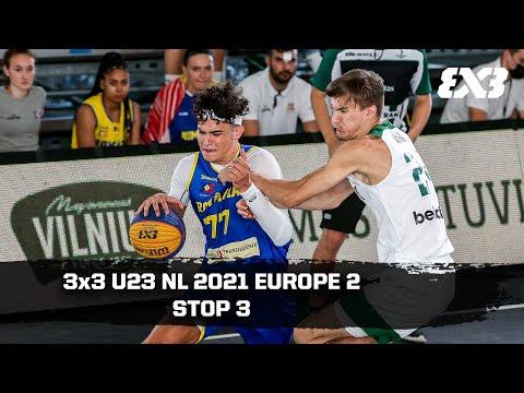 RE-LIVE - FIBA 3x3 U23 Nations League 2021 - Europe 2 | Stop 3