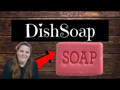 How To Make Your Own HomeMade Dish soap!!
