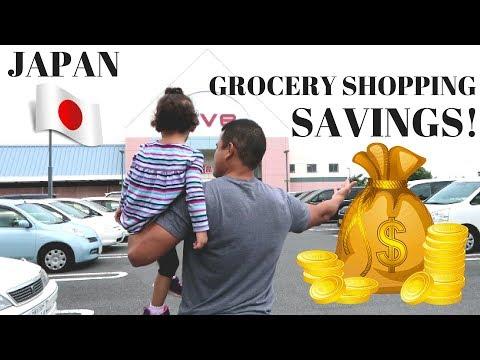 Grocery Shopping Outside Yokosuka Naval Base | Japan | Sep2017