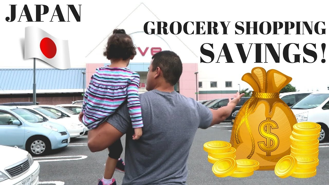 Grocery Shopping Outside Yokosuka Naval Base | Japan | Sep2017