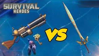 Dragon Gun vs Dragon Sword - Survival Heroes (2020)