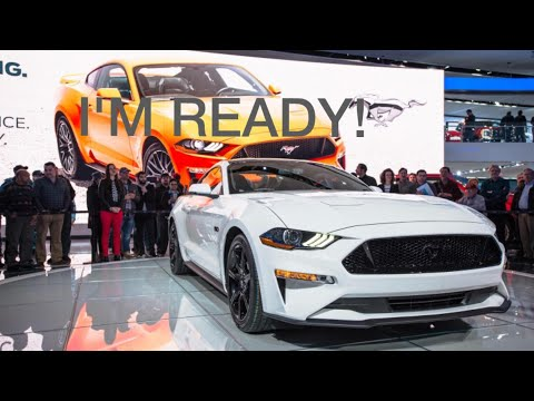 Getting prepared for the 2018 Ford Mustang!