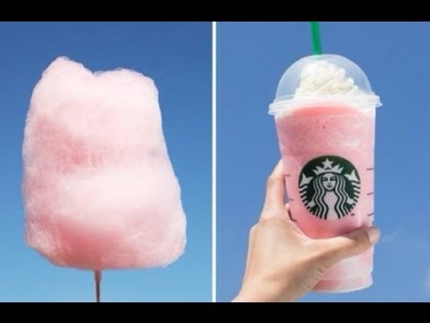 how to make starbucks cotton candy frappuccino