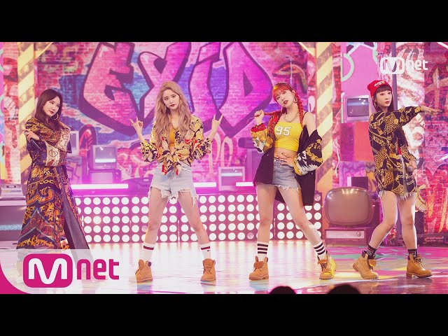 [EXID - LADY] Comeback Stage   M COUNTDOWN 180405 EP.565