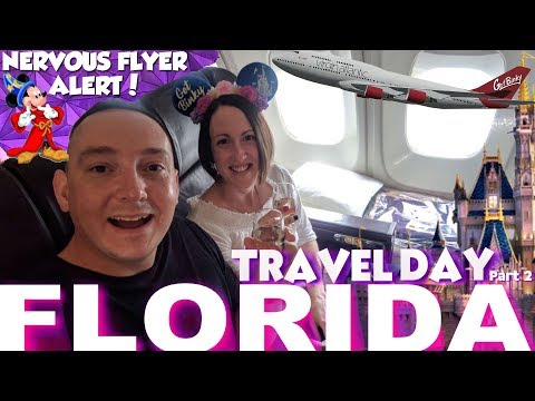 Nervous Flyer Goes To Walt Disney World, Orlando Florida | Our Travel Day To Port Orleans Riverside
