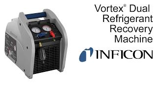 Refrigerant Recovery Machine   Vortex Dual