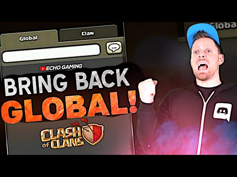 Bring Back Global In Clash Of Clans