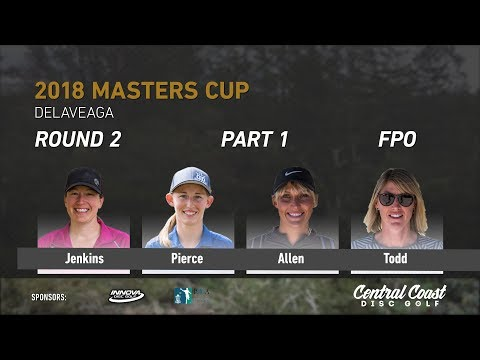 2018 Masters Cup FPO Rd. 2 Pt. 1 Jenkins, Pierce, Allen, Todd
